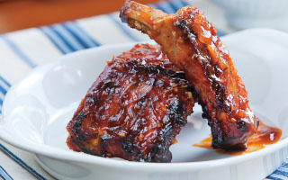 Four Brothers Flame Seared Ribs