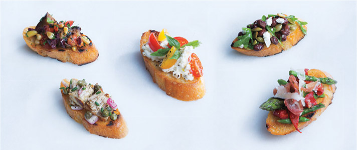 5 Ways Bruschetta