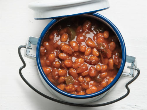 Baked Beans Southern-Style – (rich & savory)