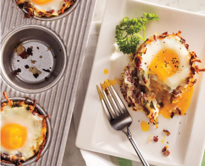 Corned Beef Hash 'n Egg Cups