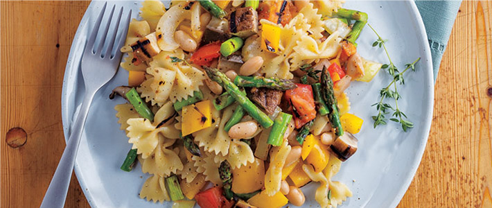 Grilled Vegetable Pasta Salad