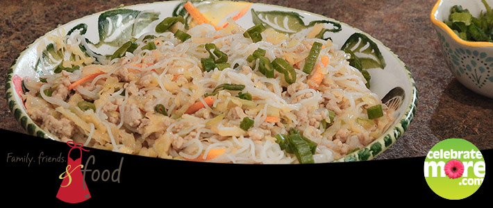 Egg Roll Noodle Bowl