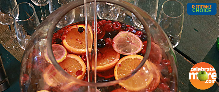 Bloody Pomegranate Punch