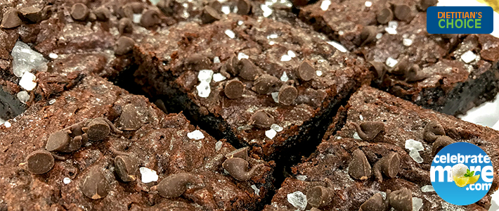 Dark Chocolate Sea Salt Brownies Celebratemore Com