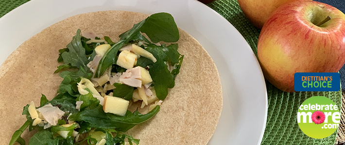 Sweet and Savory Turkey Wrap