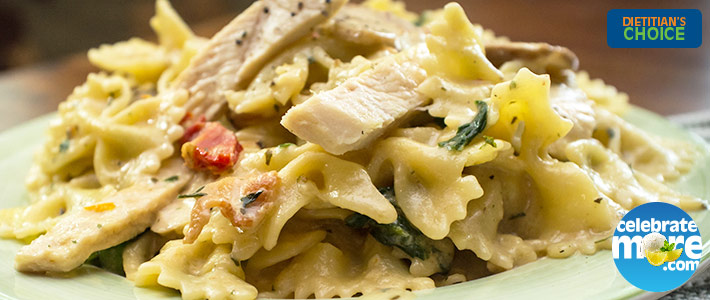 Tuscan Pasta Freezer Meal