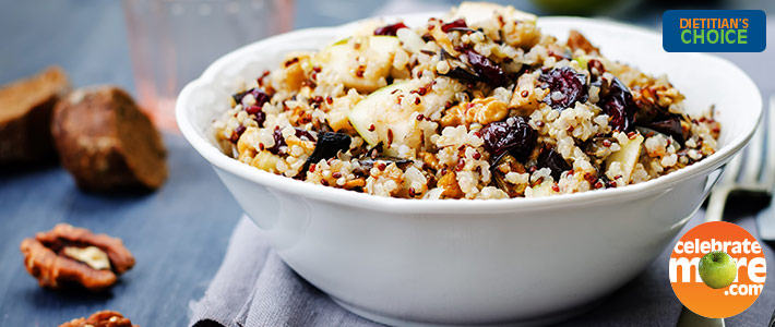 Apple Quinoa Salad with Roasted Butternut Squash