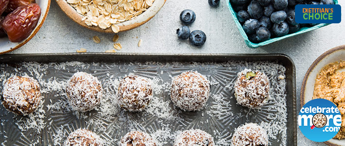 Blueberry Power Superfood Bites