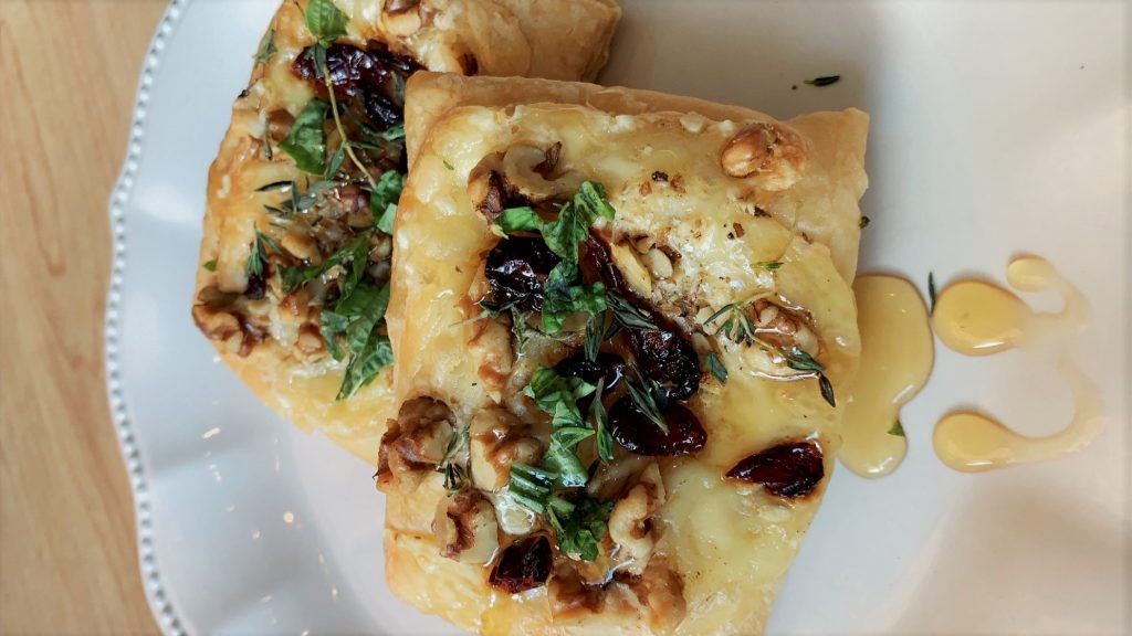 Walnut & Brie Puff Pastry