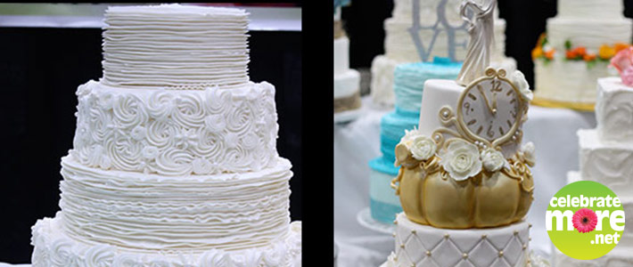 Top Trends & Ideas for 2016 Wedding Cakes