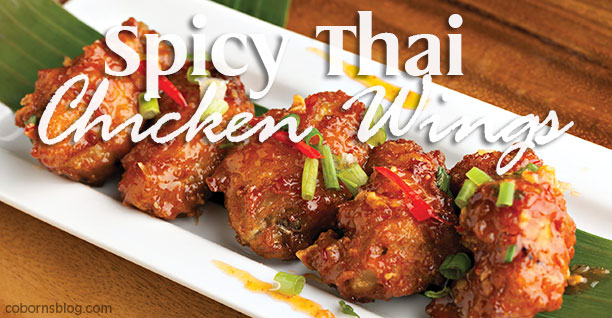 Coborn's Weekly Ad Recipe Spicy Thai Chicken Wings www.cobornsblog.com