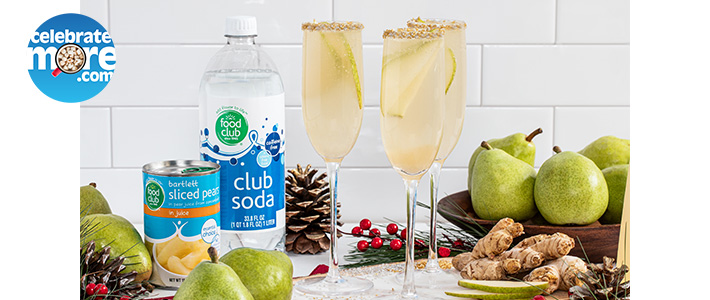 Sparkling Ginger Pear Punch