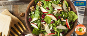 Fall Apple Walnut Salad