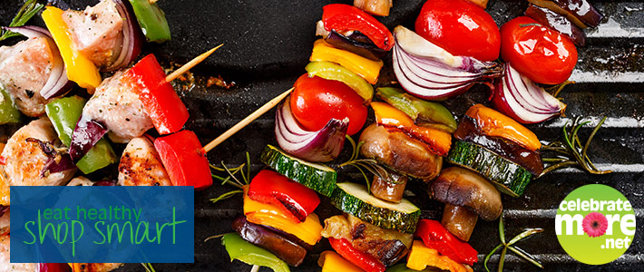Add Color and Nutrition to Your Grill