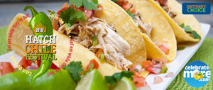 Hatch Chile Slow Cooker Chicken Tacos