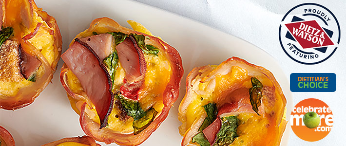 Inside Out Ham & Turkey Cups