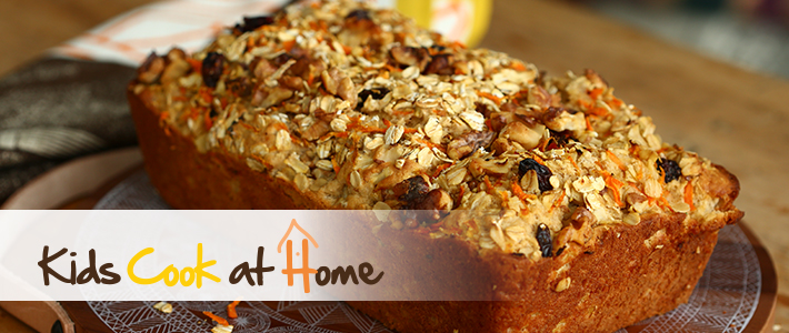 Oatmeal Carrot Cake Bread
