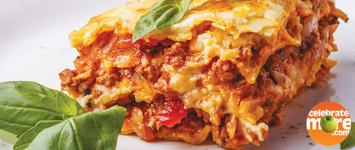 Triple Layer Lasagna