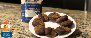 No Bake Protein Packed Pistachio Cookies