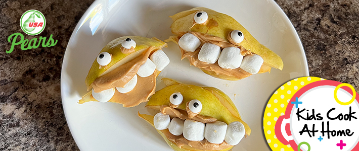 Pear Monster Mouths