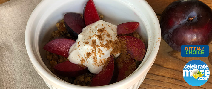 Pluot Crumble