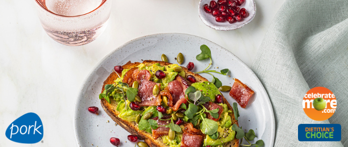 Sweet & Savory Avocado Toast