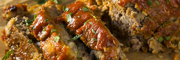 Mom's Meatloaf with Potatoes and Carrots