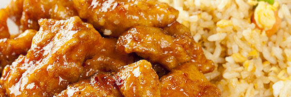 General Tso Chicken with Fried Rice