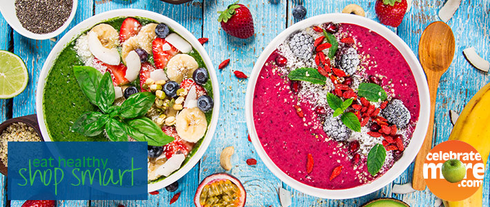 Spring Into Summer With Smoothie Bowls