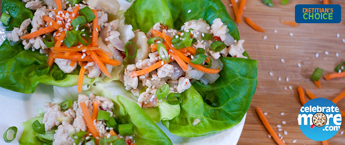 Sweet Thai Chili Lettuce Wraps