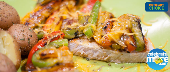 Cheesy Pepper Pork Chops