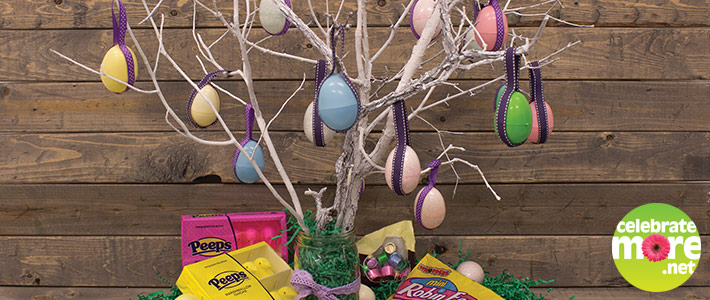 Festive Easter Egg Tree