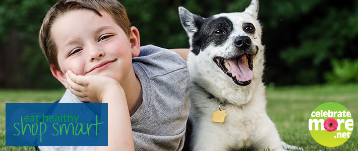 Dogs… Your Child's Best Exercise Friend!